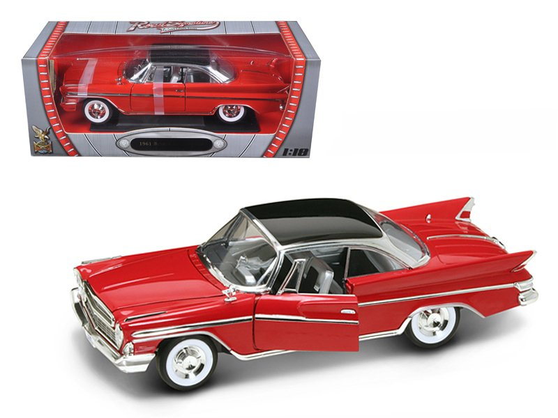 1961 Desoto Adventurer Red 1/18 Diecast Car Model by Road Signature