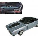 1971 Dodge Charger R/T Hemi (GA4) Gunmetal Grey Limited 1/18 Diecast Model Car by Autoworld