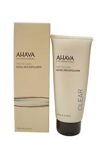 Ahava Time to Clear Facial Mud Exfoliator, 3.4 Oz