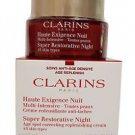 Clarins Super Restorative Night Age Spot Correcting Replenishing Cream, 1.6 Oz