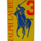 Ralph Lauren Polo Big Pony Collection Yellow #3 EDT 100 ml 3.4 oz