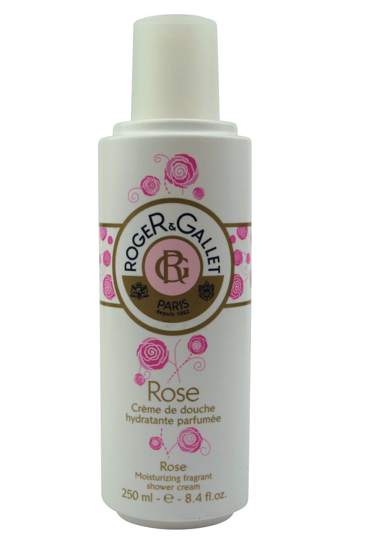 Roger & Gallet Rose Moisturizing Fragrant Shower Cream 250ml 8.4oz