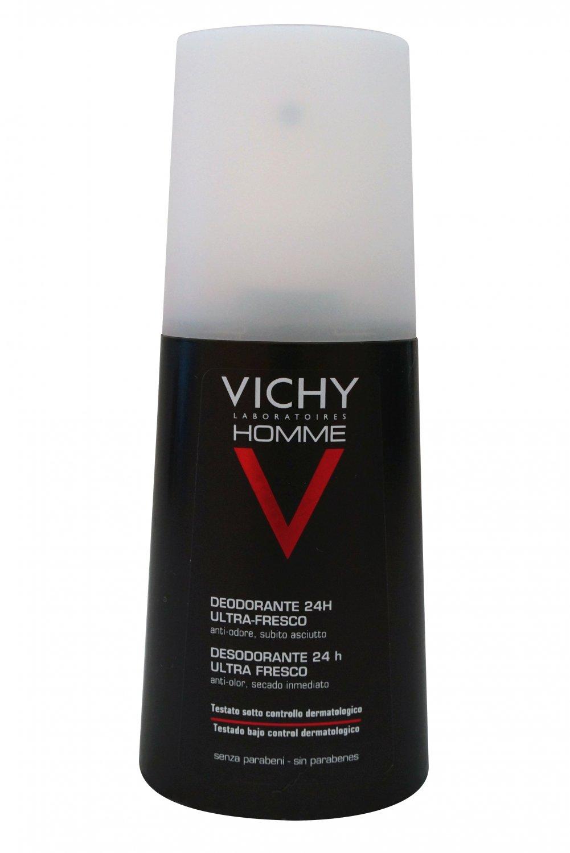 Vichy Homme Ultra-Fresh Deodorant Spray 100 ml Set of 2