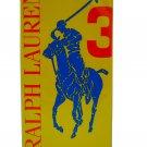 Ralph Lauren Polo Big Pony Collection Yellow #3 EDT 50 ml 1.7 oz