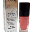 Lancome Paris Vernis In Love Gloss Shine Nail Polish 300M Rose Plumetis