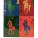 Ralph Lauren The Big Pony Miniature Collection 4 Piece Mini Gift Set for Men