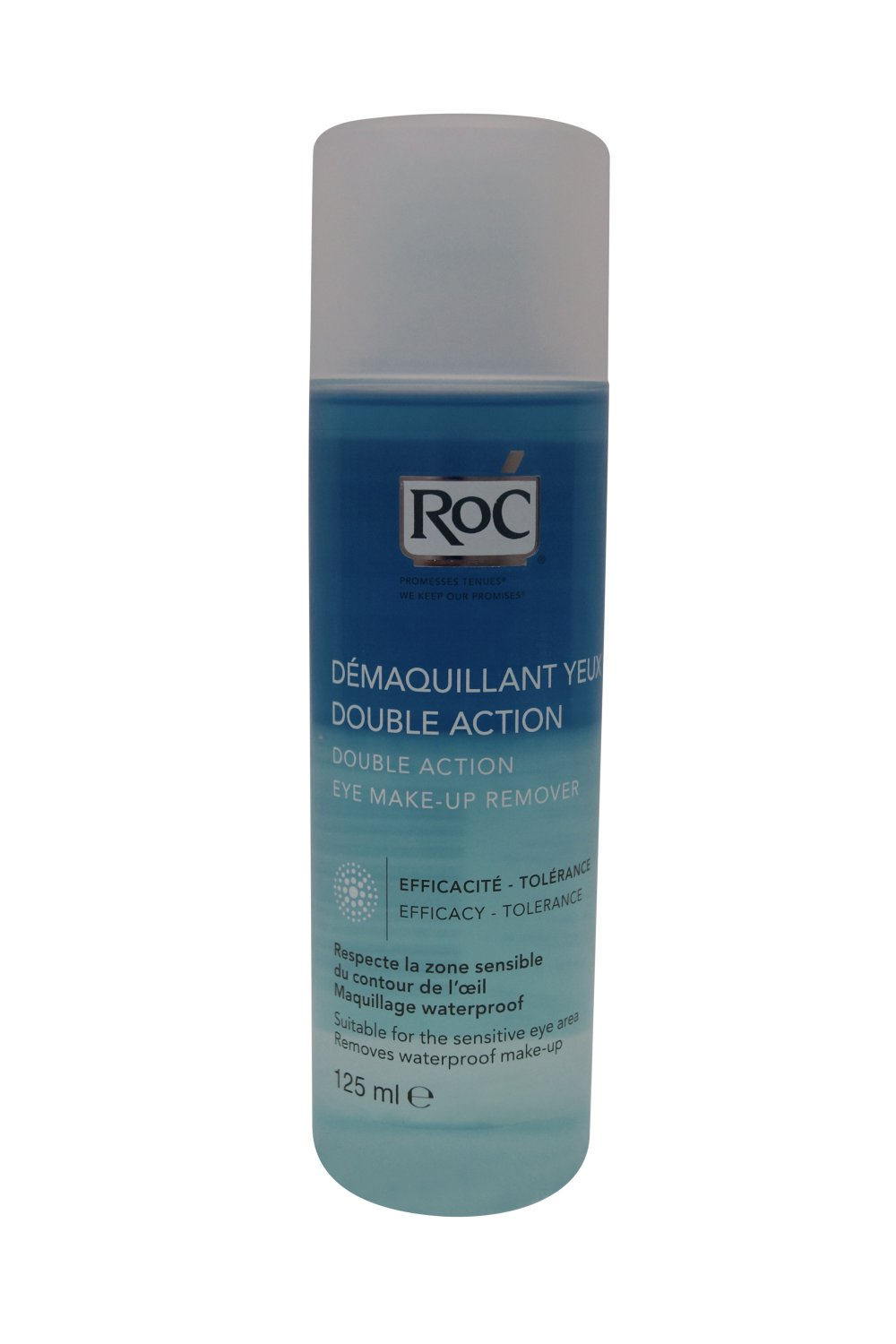 Roc Double Action Eye Make Up Remover (125ml)
