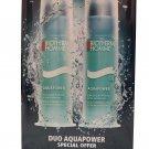 Biotherm Homme Aquapower Oligo-Thermal Care Moisturizer Anti-Dryness 2x75 ml
