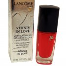 Lancome Paris Vernis In Love Gloss Shine Nail Polish 112B Rouge In Love