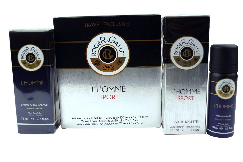 Roger & Gallet Travel Kit EDT 3.3 oz Shaving Foam 1.6 oz After Shave 2.5 oz