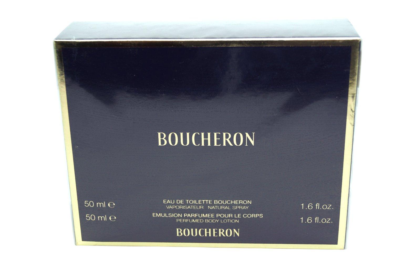 Boucheron Paris Set EDT 1.6 oz & Perfumed Body Lotion 1.6 oz