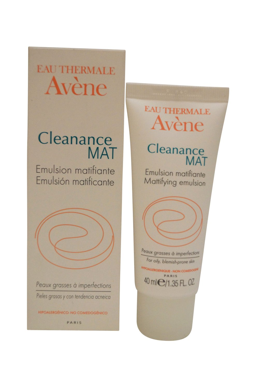 Avene Eau Thermale Cleanance Mat Mattifying Emulsion 40 ml