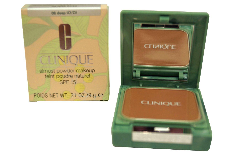 Clinique Almost Powder Makeup SPF 15 06 Deep .31 oz