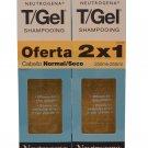 Neutrogena T/Gel Shampoo Normal to Dry Duo 2x250 ml  (SPANISH LABEL)