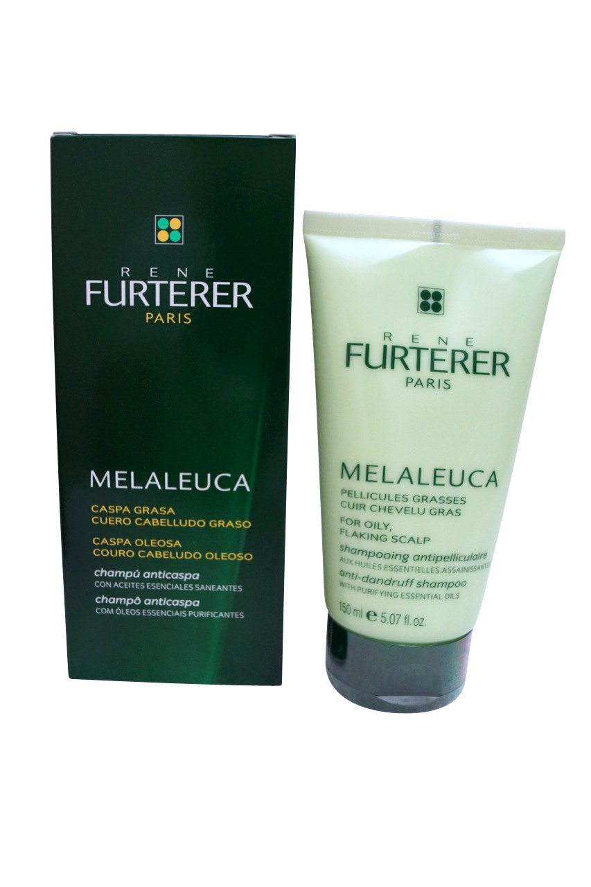 Rene Furterer Melaleuca Anti-Dandruff Shampoo for Oily, Flaking Scalp 5.07 oz