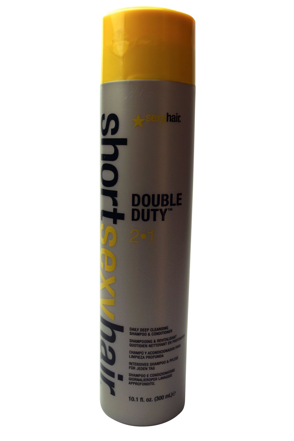 Sexy Hair Short Sexy Hair Double Duty 2 In 1 Shampoo & Conditioner, 10.1 Oz