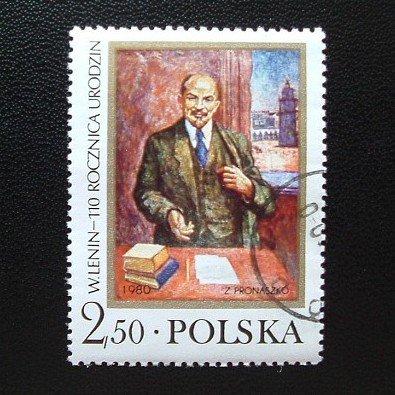 POLAND 110 YEARS THE BIRTH OF LENIN 1980