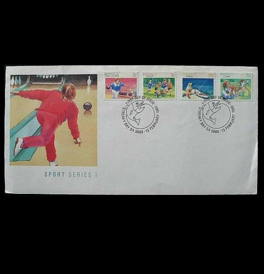 AUSTRALIA AUSTALIAN SPORTS FIRST DAY COVER STAMPS 1989