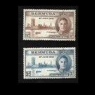 BERMUDA VICTORY WORLD WAR II STAMPS 1946