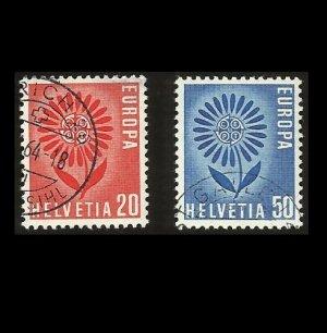 EUROPA CEPT STAMPS SWITZERLAND HELVETIA 1964
