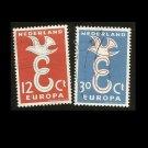 EUROPA STAMPS NETHERLANDS NEDERLAND 1958