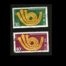 GERMANY EUROPA STAMPS 1973 POST HORN EUROPA STAMPS