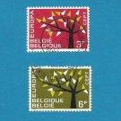 EUROPA CEPT STAMPS BELGIUM BELGIE BELGIQUE 1962