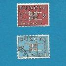 EUROPA CEPT STAMPS BELGIUM BELGIE BELGIQUE 1963