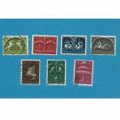 SYBOLS OF GERMANY STAMPS NETHERLANDS NEDERLAND 1943