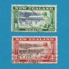 NEW ZEALAND HEALTH ISSUE STAMPS BOY LOOKING THROUGH WINDOW 1948