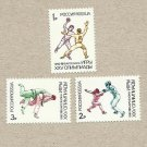 RUSSIA BARCELONA SUMMER OLYMPIC GAMES STAMPS UNUSED MNH 1992