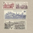 CZECHOSLOVAKIA INTERNATIONAL YEAR OF TOURISM STAMPS 1967