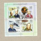 GUINEA BISSAU PIONEERS OF AVIATION PAGE OF FOUR STAMPS MINISHEET 2006