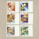 CUBA SPACE DAY SPACE EXPLORATION STAMPS 1983