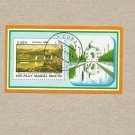 CUBA 1989 INDIA WORLD STAMP EXPOSITION TAJ MAHAL STAMP MINIPAGE