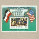 UNITED STATES BICENTENARY UPPER VOLTA STAMP MINISHEET 1976