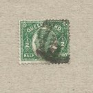 AUSTRALIA QUEENSLAND COLONY 1896  VICTORIAN HALF PENNY STAMP