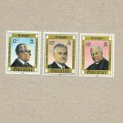 GIBRALTAR EUROPA STAMPS FAMOUS PEOPLE 1980 MNH MINT NEVER HINGED