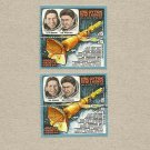 RUSSIA SOVIET UNION SPACE RESEARCH STAMP MNH and CANCELLED 1979