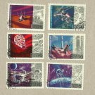 RUSSIA SOVIET UNION 15th ANNIVERSARY OF COSMIC ERA STAMPS 1972