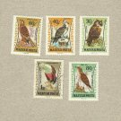 HUNGARY COLLECTION HAWK BIRD OR PREY STAMPS 1963