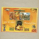 INDIA FESTIVALS OF INDIA STAMP MINISHEET 2008