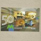 UKRAINE FIFTY 50 YEARS OF KIEV METRO 1960-2010 STAMP MINIPAGE