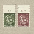 GERMANY DEUTSCHES REICH GOLDEN ART STAMPS 1943