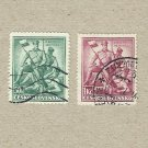 CZECHOSLOVAKIA BATTLE OF ZBOROV STAMPS 1937