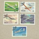 SOVIET UNION RUSSIA HISTORY OF SOVIET GLIDERS STAMPS 1983