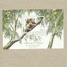 AUSTRALIA KOALA BEAR CHINA JOINT ISSUE STAMP MINISHEET 1995