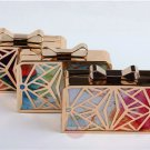 Artsivaris NEW Women Handbag Evening Clutch Party Metal Patchwork Mini Bag