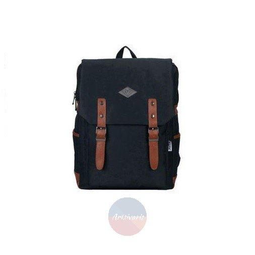 "Vintage Men Women 14"" Laptop Backpack School Travel Book Bag Oxford Rucksack"