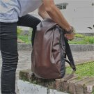 "Stylish Waterproof Hoodie Retro 15"" Laptop Computer Backpack Travel School Bag"